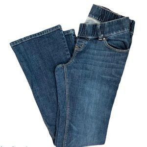 OLD NAVY MATERNITY LOW RISE STRETCH JEANS 1 SHORT
